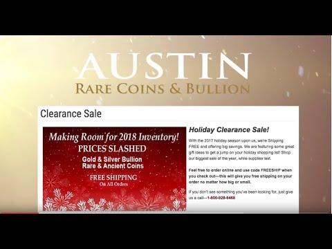 Austin Rare Coins & Bullion Clearance Sale