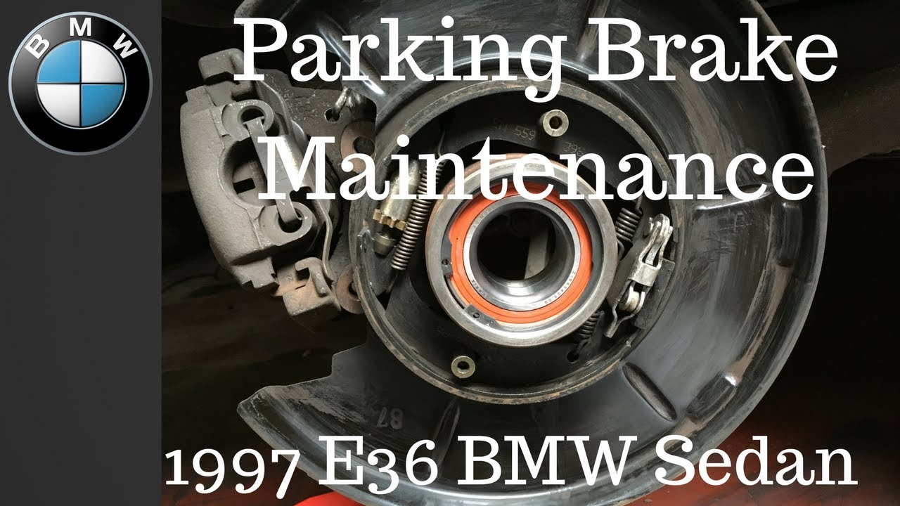 Bmw E36 E46 Parking Break Ebrake Adjustment