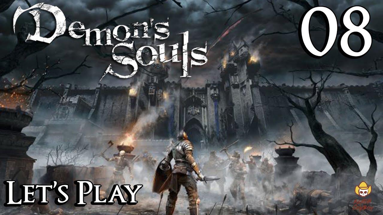Demon's Souls Remake - Let's Play Part 8: Blue Phantom Cowboy - YouTube