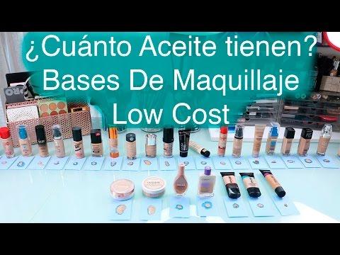 ¿Cuánta Grasa tiene tu Base de Maquillaje? | Bases Low Cost