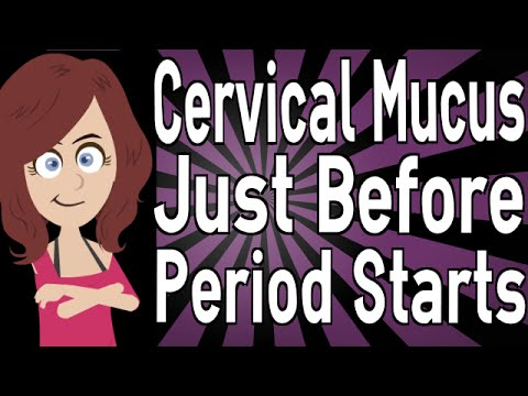 Cervical mucus early pregnancy before missed period