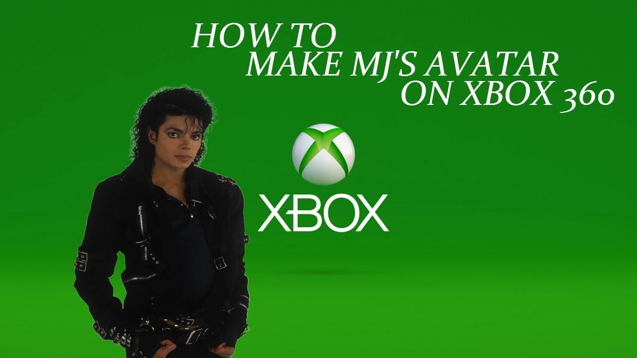 how to make michael jackson s avatar on xbox 360 youtube
