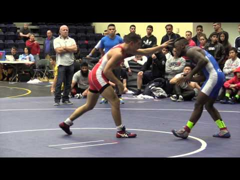 2014 SFU International: 57 kg Final Steven Takahashi vs. Isaac Bernard