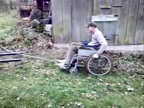Drift Wózkiem Inwalidzkim Youtube