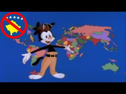 Yakko's World But It's The Countries That Support Serbia Over Kosovo