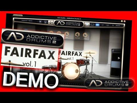 FAIRFAX VOL 1 Adpak DEMO - Addictive Drums 2 - XLN Audio