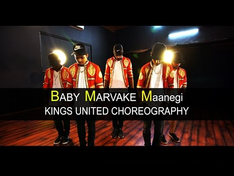Baby Marvake Maanegi - Raftaar | Kings United India | Hip Hop Dance Choreography | Remo D'souza