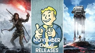 November - New Game Releases!