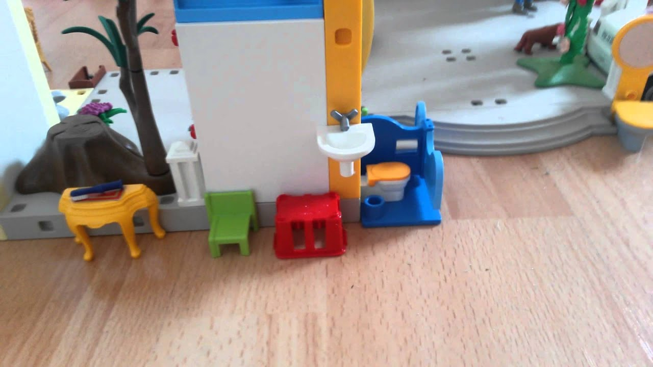 Mein selbst gebautes playmobil haus youtube for Playmobil haus schlafzimmer