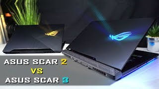 Asus Scar II vs Asus Scar III Review / Comparison - You'll be surprised...