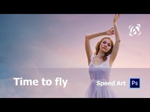 Time to fly / Asabin Art (Speed art)