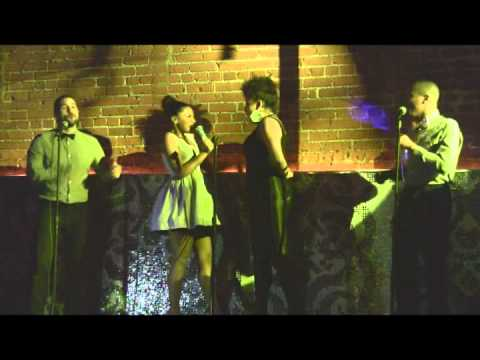 Crystal Starr Performs 'The Boy From New York City' @ New Song Release Event!
