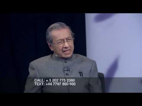 Riz Khan - Mahathir Mohamad - Dec 4 - Part 1