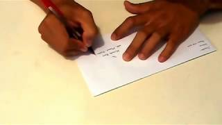 How Write Address Envelope Correctly