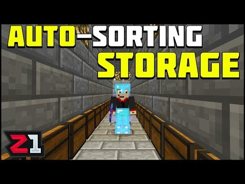 Auto Sorting Storage System ! Getting Organized! Lets Play