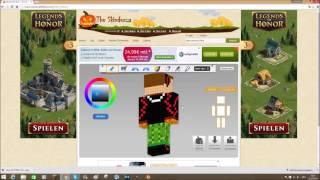 ANIMIERTEN MINECRAFT SKIN KOSTENLOS MIT BLENDER ERSTELLEN - Minecraft skins erstellen spielen es