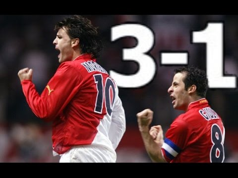 AS Monaco 3-1 Real Madrid 07-04-2004 1/4 final UCL