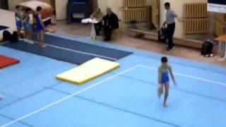 Ганжела Родион на сборах во Владимире по спортивной гимнастике.