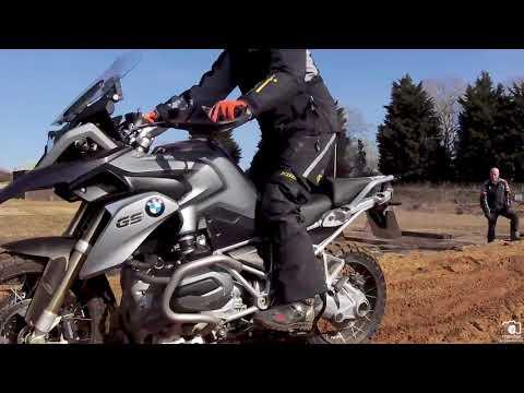 Deep sand and gravel riding @ Adventure Bike Training