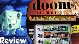 DC Dicemasters: Mystics and Doom Patrol Review - with Tom Vasel