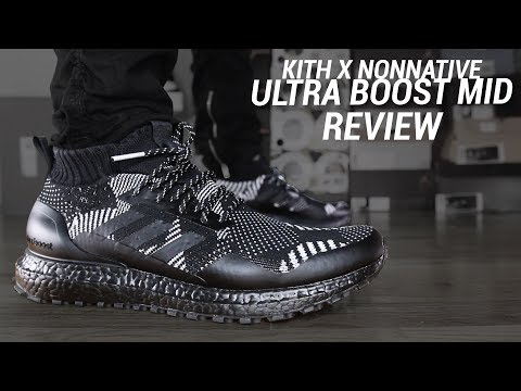 ADIDAS X KITH X NONNATIVE 3M ULTRA BOOST MID REVIEW