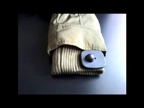 Как снять магнит (клипсу) с одежды?