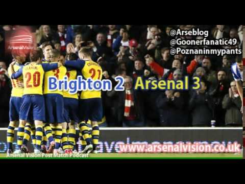 Arsenal Vision Post Match Podcast - EP13: Brighton 2 Arsenal 3 / Gabriel & Bielik (Feat Arseblog)