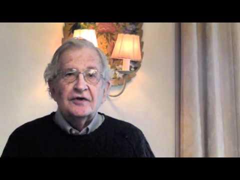 Noam Chomsky speaks on UA divestment