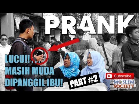 LUCU!!... MASIH MUDA UDAH DIPANGGIL IBU PART 2 - PRANK INDONESIA