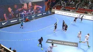 Vitaly Komogorov (HBC Nantes) against PSG 24.03.2016