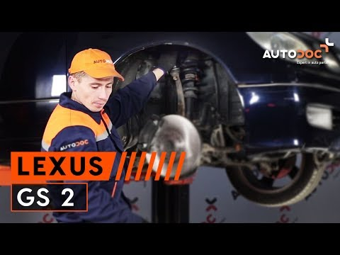 How to replace front upper arm LEXUS GS 2 TUTORIAL | AUTODOC