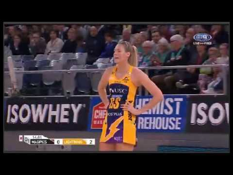 Suncorp Super Netball-Collingwood Magpies W vs.Sunshine Coast Lightning W-AUSTRALIA-Round 11