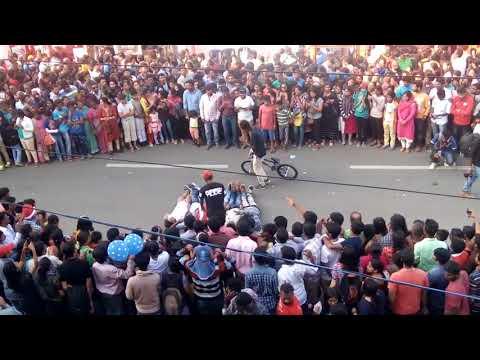 Open street winter festival d.d.urs road mysore