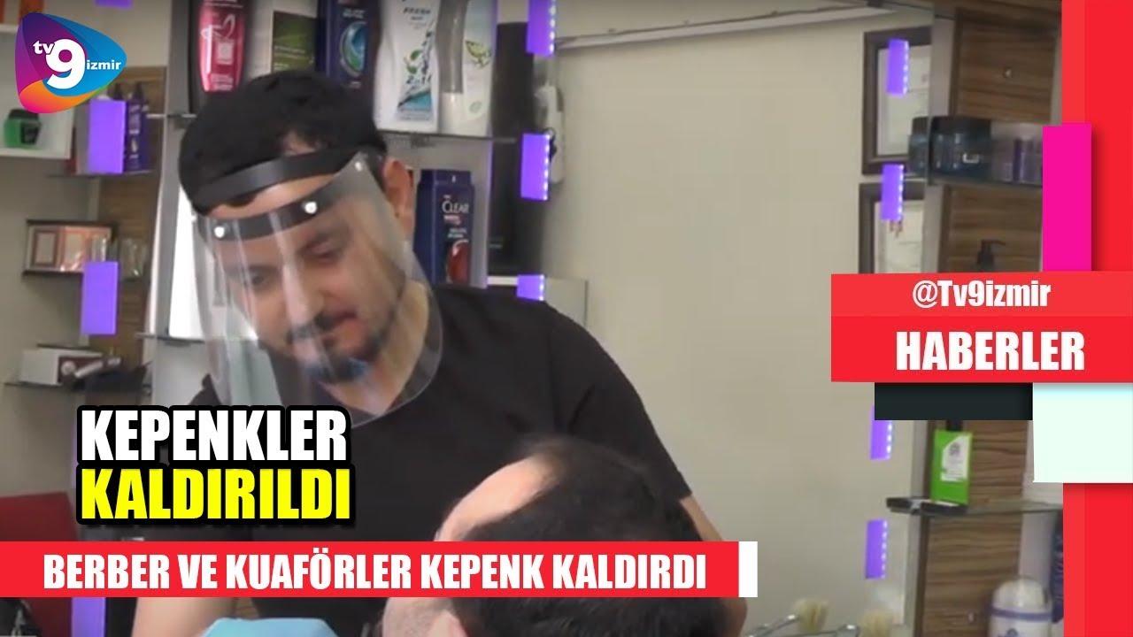 BERBER VE KUAFÖRLER KEPENK KALDIRDI