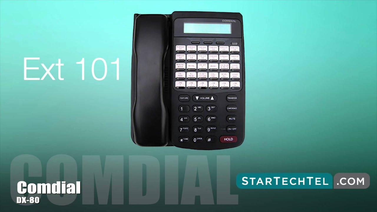 Comdial edge 120 user manual.