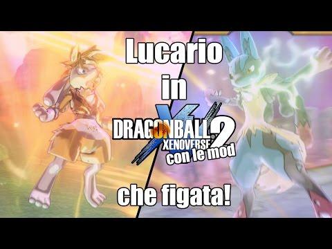 Lucario su Dragon Ball Xenoverse 2, Che figo! - Dragon Ball Xenoverse 2 MOD