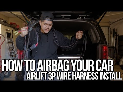 how-to-airbag-your-car:-pt.1-wire-harness-install-(air-suspension)