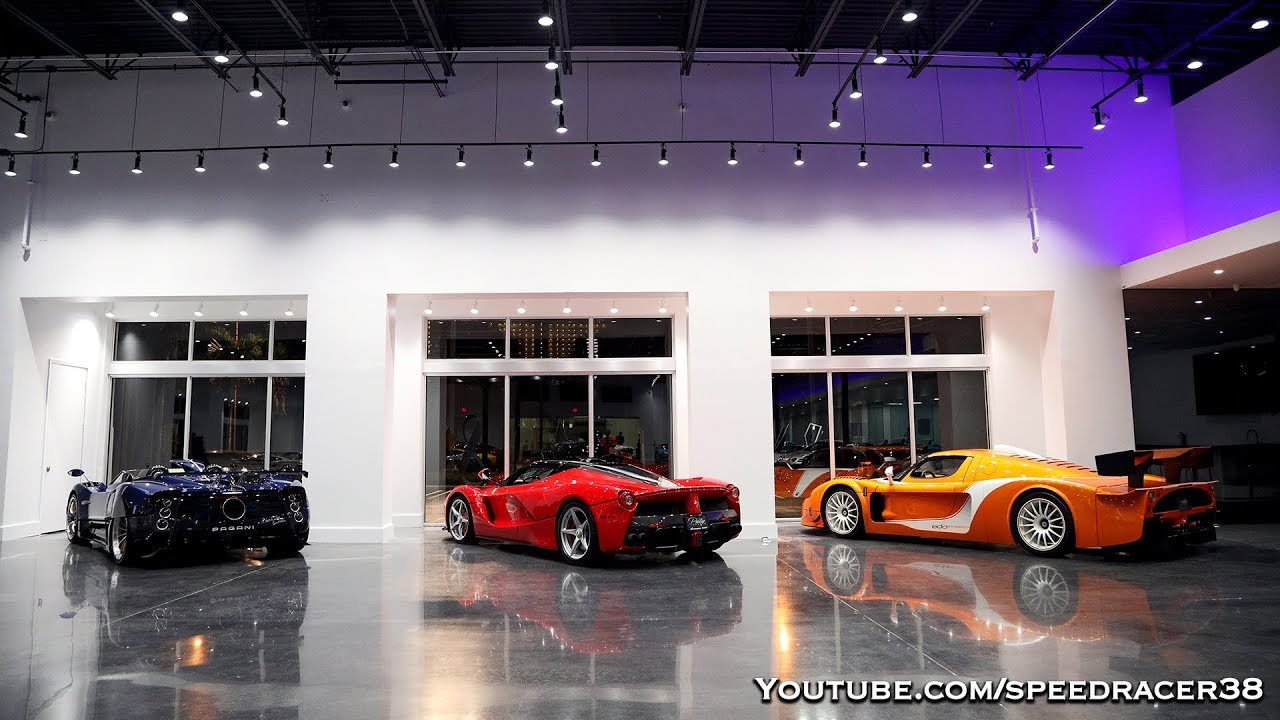 Prestige Imports, the best hypercar showroom in the USA