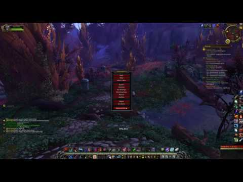 [4K] Higher FPS in World areas WoW Legion View Distance performance impact i3 6100 GTX 1070