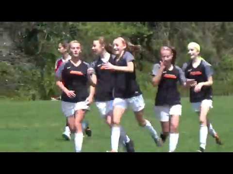 Richmond Strikers 2005 Elite Girls vs Gunston 4/22/2018 1st Half