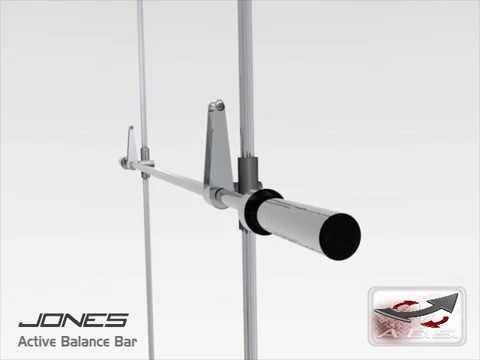 Bodycraft Jones Active Balance Bar Available at Innovative Fitness 770.218.9390