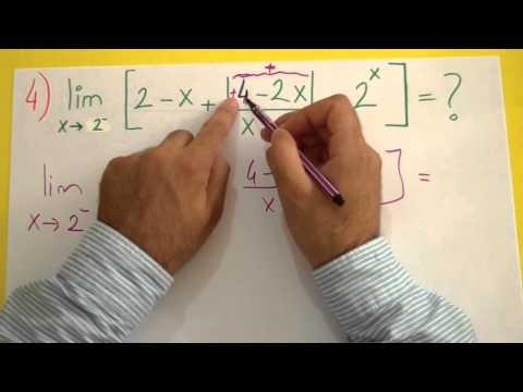 Limit Soru Çözümü Şenol Hoca Matematik