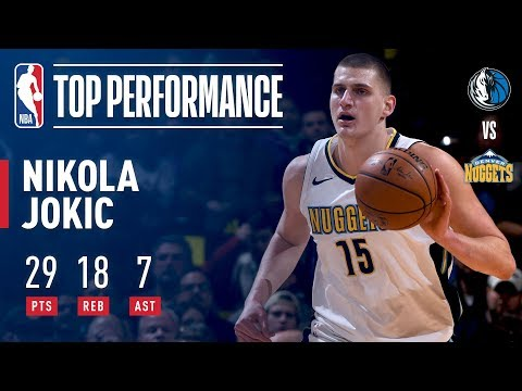 Nikola Jokic Shows Out vs The Mavs