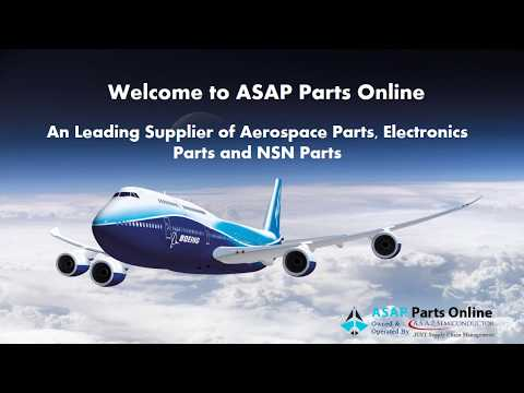 ASAP Parts Online Leading Distributor for Aviation Electronics Parts