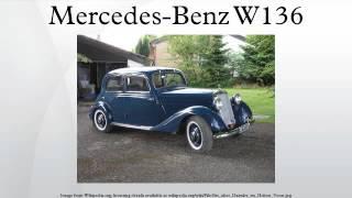 Mercedes-Benz W136