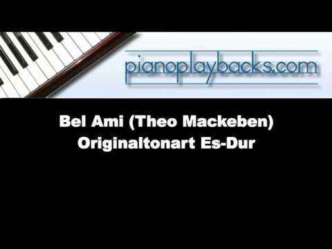 Bel Ami Eb-Dur (Theo Mackeben) Piano Playback Instrumental