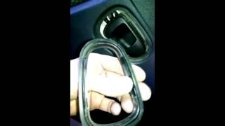 Daewoo Nexia n150 - Снятие обшивки и ручек стеклоподъемников передний и задней двери