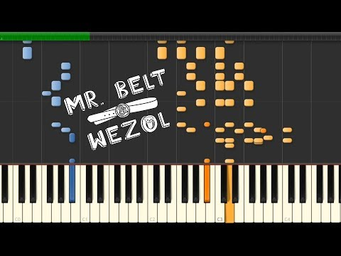 Mr. Belt & Wezol & Aevion - One More Day: Synthesia Piano Tutorial