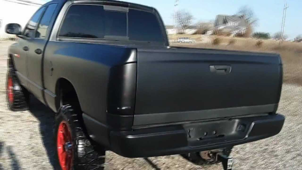 2005 Dodge Ram 4x4 Rat Rod Tactical Edition Youtube