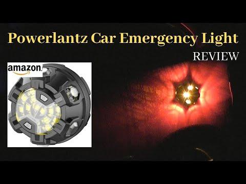 Powerlantz Car Emergency LED Breakdown Light Review.